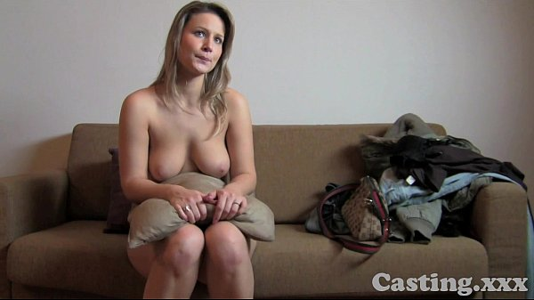 Czech Blonde On The Famous Casting Couch